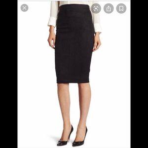 Robert Rodriguez Black Pencil Skirt